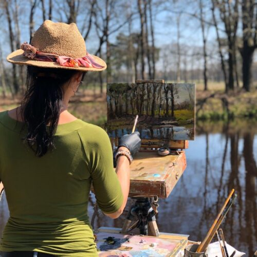landscapes painting plein air paintings